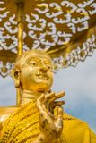 The disciple of buddha statue. In thailand Royalty Free Stock Images