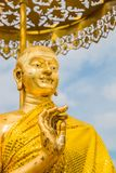 The disciple of buddha statute. The disciple of buddha statue in Thailand Stock Image