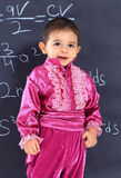 Disciple in the Gypsy costume. Meet on school boards Royalty Free Stock Photos