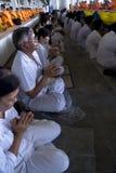 disciples bouddhistes Image stock