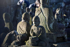 The disciples of Buddha #3 Stock Images