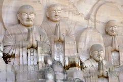 Disciples de Shakyamuni Bouddha photographie stock libre de droits