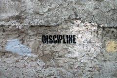 disciplina Fotografie Stock Libere da Diritti