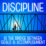 disciplina Fotografia Stock
