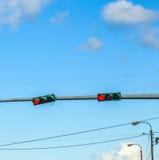 Disciplina del traffico in america Fotografia Stock Libera da Diritti