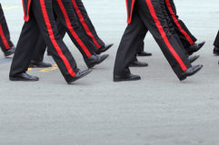 Disciplina militar fotografia de stock