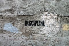 Discipline Royalty Free Stock Photos
