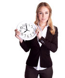 Discipline and punctual concept Stock Photography