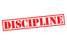 DISCIPLINE Royalty Free Stock Images