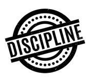 Discipline rubber stamp Stock Image