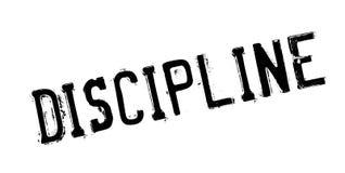 Discipline rubber stamp Stock Photos