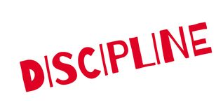 Discipline rubber stamp Royalty Free Stock Photos