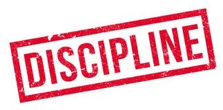 Discipline rubberzegel stock illustratie
