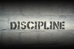 Discipline WORD GR Royalty Free Stock Image