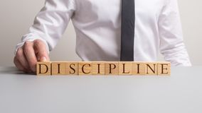Discipline in zaken en onderwijs stock fotografie