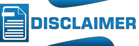 Logo Disclaimer [image by Dreamstime.com]