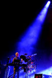 Disclosure (English electronic music duo) performance at Heineken Primavera Sound 2014 Festival (PS14). BARCELONA - MAY 29: Disclosure (English electronic music Royalty Free Stock Photos