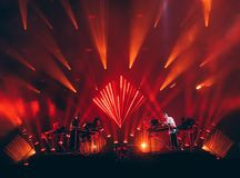Disclosure Live. Live performance of Disclosure Marlay Park 2014 Royalty Free Stock Photography