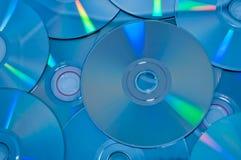 Disco óptico de DVD Imagen de archivo libre de regalías