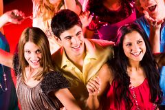 At disco Royalty Free Stock Image