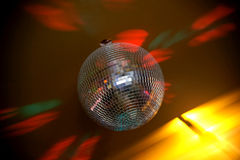 Disco. Ball. In night club Stock Photos