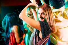 At disco Stock Photography