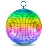 ζωηρόχρωμο disco σφαιρών Στοκ Εικόνα