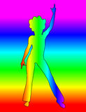 Disco 2 Royalty Free Stock Photo