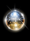 καθρέφτης disco σφαιρών Στοκ εικόνα με δικαίωμα ελεύθερης χρήσης