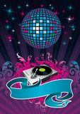Disco stock illustration