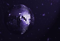Disco stock image