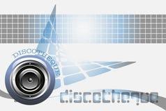 Disco royalty-vrije illustratie