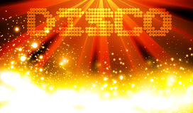Disco Abstract Background Stock Photography