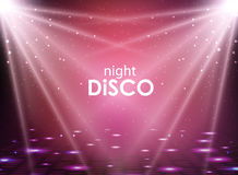 Disco abstract background. Disco ball texture. Stock Photography