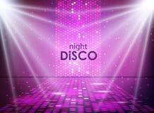 Disco abstract background. Disco ball texture. Spot light Royalty Free Stock Photos