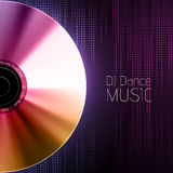 Disco abstract background. Record or disk Royalty Free Stock Photos