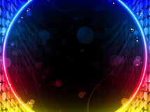 Disco Abstract Circle Box Background Royalty Free Stock Images
