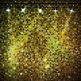 Disco abstract  neon background Royalty Free Stock Image