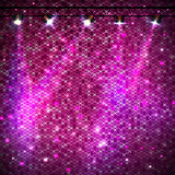 Disco abstract  neon background Stock Photography