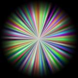 Disco abstracto del color con el fondo Fotos de archivo