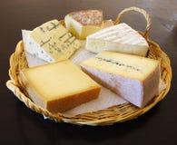 Disco appetitoso del formaggio fotografia stock