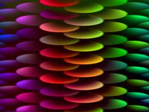 Disco arquitectónico multicolor abstracto de la pendiente del detalle libre illustration