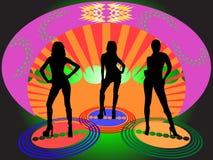 Disco-Aufenthaltsraum Stockfoto