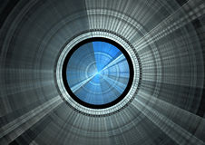 Disco azul ilustração do vetor