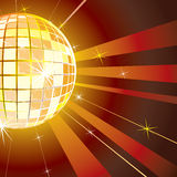 Disco background. For your text royalty free illustration