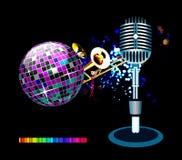 Disco background Stock Photography