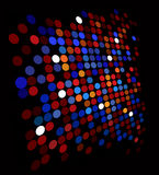 Disco background Stock Images