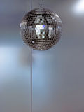 Disco Background. Metal Background with Disco Ball royalty free stock images