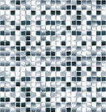 Disco background. Blue and white glass tiles Stock Images