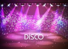 Disco Background Royalty Free Stock Photos